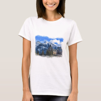 Mr Rundle and Hotel, Banff, Alta, Canada T-Shirt