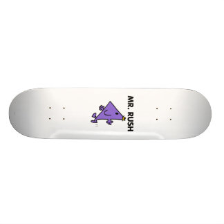Mr. Rush | Quick Pace Custom Skate Board