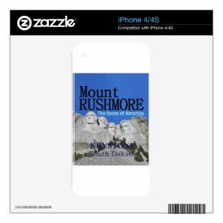 Mr. Rushmore iPhone 4 Decals
