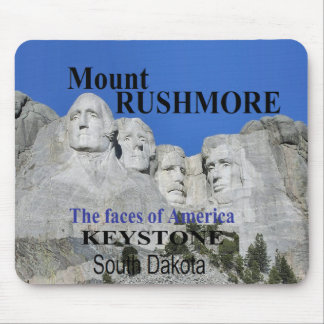 Mr. Rushmore Mouse Pad
