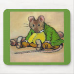 MR. SAMUEL WHISKERS, AFTER BEATRIX POTTER MOUSE MATS