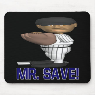 Mr Save Mouse Pad