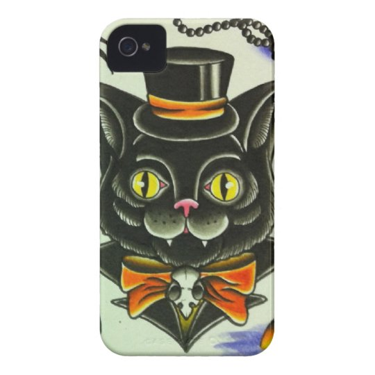 Mr. Scary Cat iPhone 4 Case