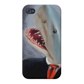 Mr. Shark Head iPhone 4 Case