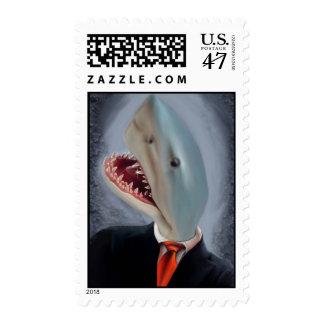 Mr. Shark Head Postage