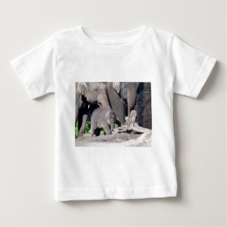 Mr Shuffles and Family Baby T-Shirt