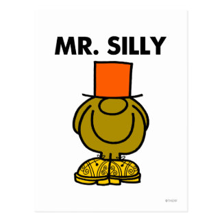 Mr Silly Classic Postcard