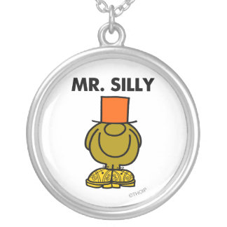 Mr. Silly | Hidden Eyes Silver Plated Necklace