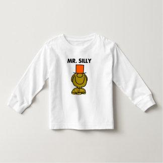 Mr. Silly   Hidden Eyes Toddler T-shirt