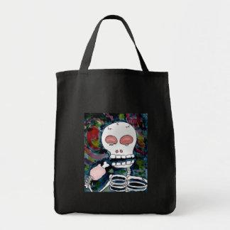Mr. Skeleton Eats Meat Bag