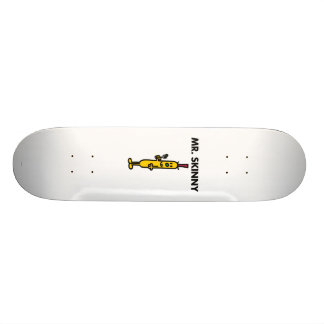 Mr. Skinny | Pea & Fork Skateboard