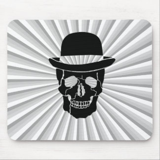 Mr. Skull Mouse Pad
