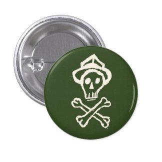 Mr. Skullington - Gang Green 1 Inch Round Button