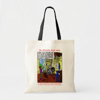 'Mr. Skygack Observes Labor Day' Totes Bag