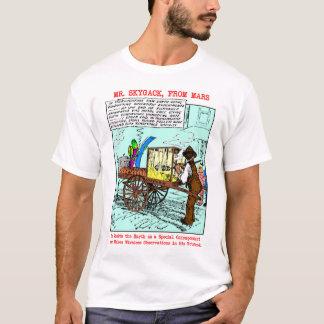Mr. Skygack Observes Popcorn Vendor Shirts