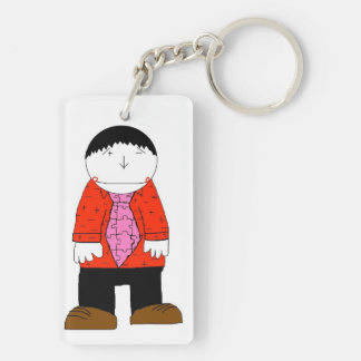 Mr.Slope Red keychain