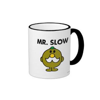 Mr Slow Classic Ringer Coffee Mug