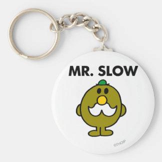 Mr. Slow | Classic Pose Keychain