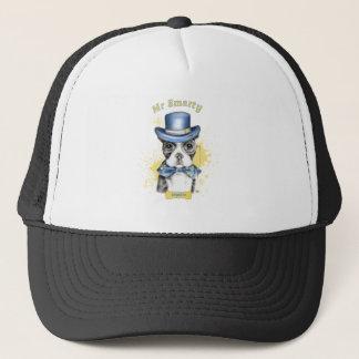 Mr Smarty Boston Terrier Trucker Hat