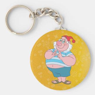 Mr. Smee Basic Round Button Keychain