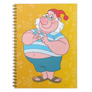 Mr. Smee Spiral Notebook