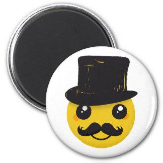 Mr Smiley Mustache Magnet