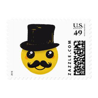 Mr Smiley Mustache postage