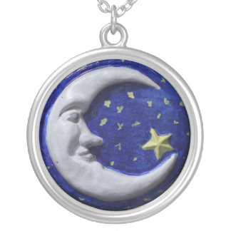 Mr Smiling Moon Necklace