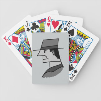 Mr Smith - Cartoon Portrait Bicycle Playing Cards