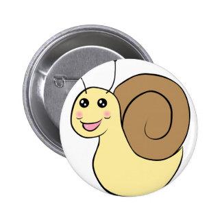 Mr. Snail Pinback Button