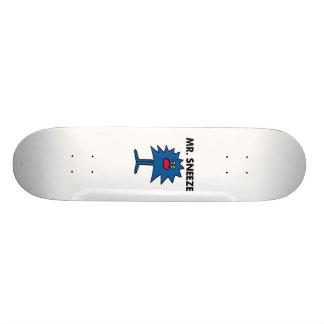 Mr. Sneeze | Jagged-Edged Body Skateboard