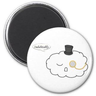 Mr. Snooty Cloud Magnet