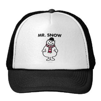 Mr. Snow | Classic Pose Trucker Hat