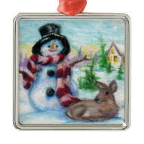 Mr. Snowman Ornament