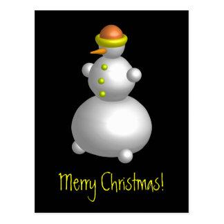 Mr. Snowman Postcard