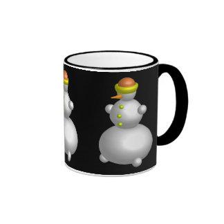 Mr. Snowman Ringer Mug