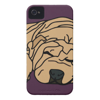 Mr Squishy the Shar-pei Puppy Case-Mate iPhone 4 Case