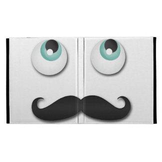 Mr stache iPad folio case