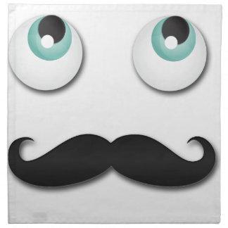 Mr stache napkin