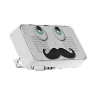 Mr.stache Travel Speaker