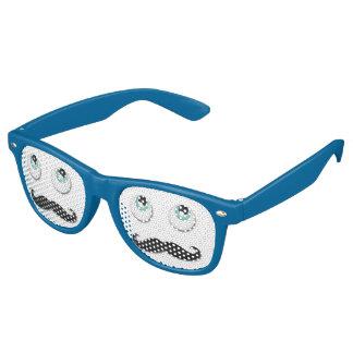 Mr stache wayfarer sunglasses