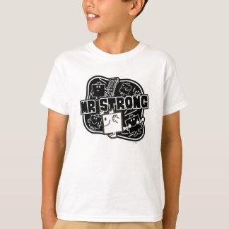 Mr. Strong | Black & White T-Shirt