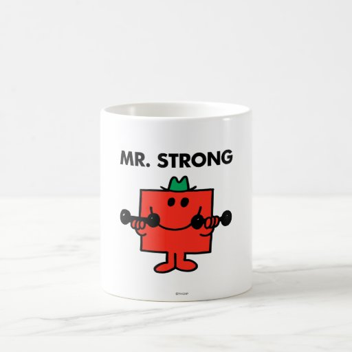 Mr Strong Classic 2 Coffee Mugs