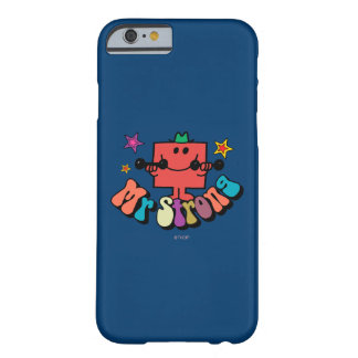 Mr. Strong | Colorful Lettering & Stars Barely There iPhone 6 Case