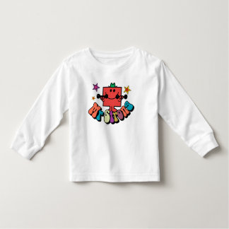 Mr. Strong | Colorful Lettering & Stars Toddler T-shirt
