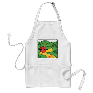 Mr Strong in the Hills Apron