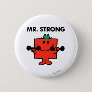 Mr. Strong | Lifting Weights Button
