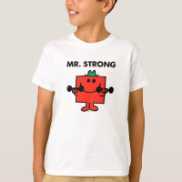 Mr. Strong | Lifting Weights T-Shirt