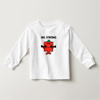 Mr. Strong | Lifting Weights Toddler T-shirt