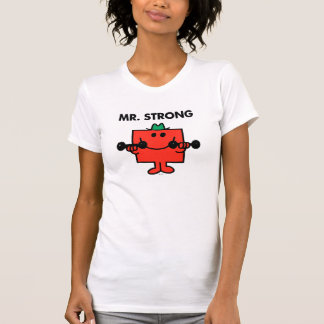Mr. Strong | Lifting Weights Tees